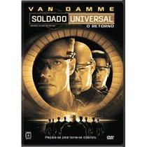 Dvd Soldado Universal O Retorno Van Damme Rarissimo