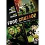 Dvd Fogo Cruzado, Filme, Original, Policial, Frete 8,00