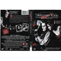Dvd Sweeney Todd O Barbeiro Demoníaco Da Rua Fleet