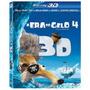 Blu Ray 3d + Blu Ray + Dvd A Era Do Gelo 4 Lacrado Com Luva