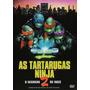 Dvd As Tartarugas Ninja 2 O Segredo De Ooze Novo
