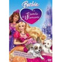 Dvd Barbie E O Castelo De Diamante + Poster Barbie Gratis
