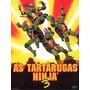 Dvd As Tartarugas Ninja 3 Novo