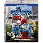 Blu-ray 3d Os Smurfs Versão 2d + 3d - Imperdível
