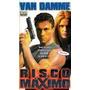 Vhs - Risco Máximo - Van Damme - Dublado