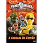 Dvd Power Rangers Tempestade Ninja A Chegada Do Trovao