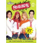 Dvd Box Rebelde 2a Temporada - 03 Dvds 100% Originais, Lacra