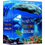 Box Blu-ray 3d Sharks + Dolphins & Whales + Ocean Wonderland