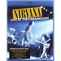 Blu-ray Nirvana: Live At Paramount [eua] Novo Lacrado