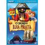 Dvd Original Playmobil - O Segredo Da Ilha Pirata