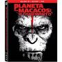 Dvd + Bd + Blu-ray 3d - Planeta Dos Macacos: O Confronto