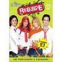 Box Rebelde 2a Temporada - 03 Dvds 100% Originais, Lacrado