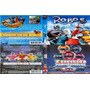 Dvd Duplo Robos + Power Rangers 2 Turbo