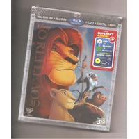 Blu-ray O Rei Leão Disney 3d + 2d + Dvd Lacrado