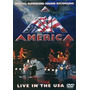 Dvd America Live In The Usa - New Jersey
