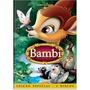 Dvd Bambi - Ediçao Especial Duplo - Novo E Lacrado