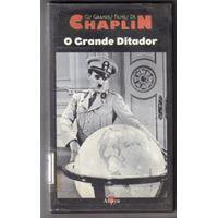 Vhs O Grande Ditador - Charles Chaplin - Legendado