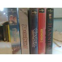 Lote 5 Fitas Vhf Ação , Aventura , Jurassic Park 3