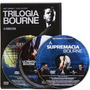 Box Dvd Trilogia Bourne (3 Dvds). Frete Grátis!