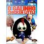 Dvd O Galinho Chicken Little - Walt Disney - Encarte + Régua