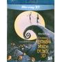 Blu-ray 3d O Estranho Mundo De Jack- De Tim Burton - Novo**