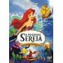 Dvd Original A Pequena Sereia - Ed. Especial Com Luva