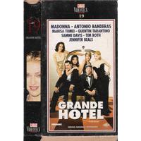 Vhs + Dvd*, Grande Hotel - Tarantino, Madonna, Banderas Etc