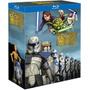 Blu-ray Star Wars Clone Wars Complete Seasons 1-5 [eua] Novo