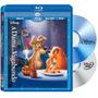 Blu Ray A Dama E O Vagabundo Edição Diamante Rara Confira!!!