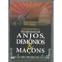 Dvd Segredos De Anjos, Demônios & Maçons, Novo, Lacrado