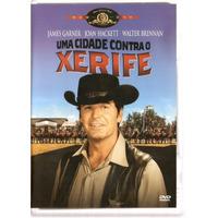 Dvd A Cidade Contra O Xerife - James Garner Lacrad Dublado