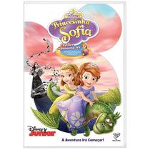 Dvd Princesinha Sofia: O Feitiço Da Princesa Ivy Disney