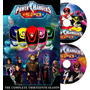 Dvd Power Ranger Spd Completo