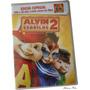 Alvin E Os Esquilos 2 Dvd Original Novo Lacrado - Animação