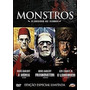 Box Monstros Clássicos Do Terror Dvd Mumia Lobisome Frankens