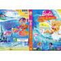 Dvd Barbie Em Vida De Sereia, Infantil, Original