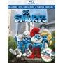 Smurfs, Os + Conto De Natal (combo) Blu-ray 3d/2d/cópia Digi