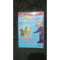 Dvd Original Teletubbies - Brincando Com Animais - Vol.1