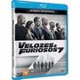 Blu-ray : Velozes E Furiosos 7 - Lacrado - Nacional Original