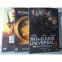 Dvd - Van Damme - Trilogia Soldado Universal - 3 Discos