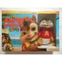 C670 - Blu-ray Alvin E Os Esquilos 1, 2 E 3 + Pelucia