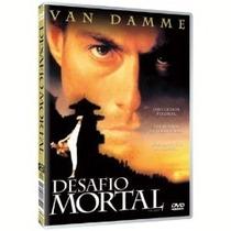 Dvd Desafio Mortal Van Damme Raridade