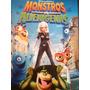 Dvd Monstros Vs Alienígenas - Dreamworks