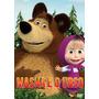 Dvd Masha E O Urso Vol 1 E 2 - 2 Dvds Frete Grátis