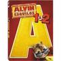 Dvd Original: Alvin E Os Esquilos 1 E 2 - Filme Lacrado Br