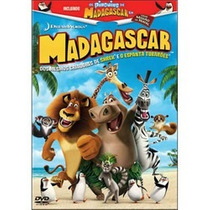 Madagascar + Os Pinguins De Madagascar - Dvd - Original