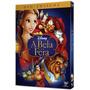 Dvd A Bela E A Fera Duplo - Disney - Novo Lacrado Com Luva