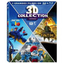 Blu Ray 3d Collection: Rio + Os Smurfs + Tintim Lacrado
