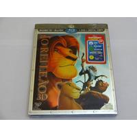 Blu-ray O Rei Leão - 3d + 2d + Dvd + Cópia Digital 4 Discos
