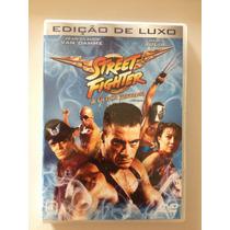 Street Fighter A Última Batalha Dvd - Van Damme (dublado)